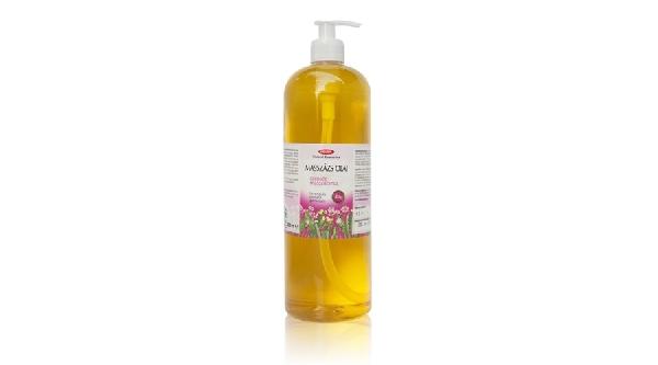 Masszázsolaj szépség 1000 ml.  ( Levendula, rózsafa, geránium ) Helén