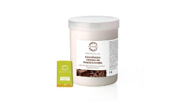 Kakaóvajas csokiálom masszázskrém 1000 ml. YAMUNA.