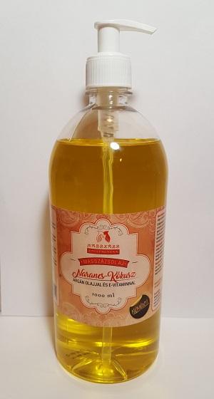 """TERMÉKMINTA 20 ml.  1 db MAROKKÓI FÜSZER masszázsolaj ( Kókuszolaj+ kukoricacsíra olaj + argánolaj +,,E"""" vitamin ) Paraffintól mentes növényi olajkeverék - MASSZÁZS MANUFAKTÚRA -"""