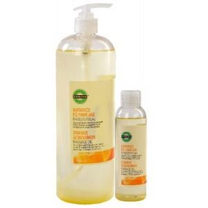 Yamuna NARANCS - FAHÉJ masszázsolaj 1000 ml. (Paraffintól mentes növényi bázisolajok keverékéből készült)