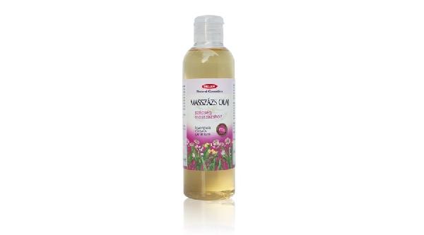 Szépség masszázsolaj 200 ml.  ( Levendula, rózsafa, geránium ) Helén